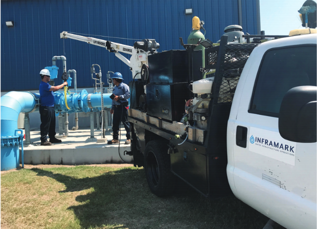 Inframark Waste Water Treatment Plant